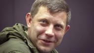 Separatistenführer will keine Friedensgespräche
