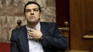 Athens Spiel mit der russischen Karte