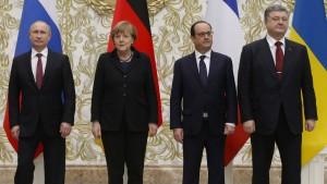 Die ukrainische Regierung geht in die Offensive