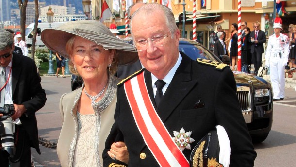 King Albert II, Queen Paola