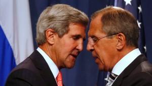 Amerika und Russland wollen syrische C-Waffen vernichten