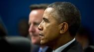 Obama und Cameron stehen im Kampf gegen Terror zusammen
