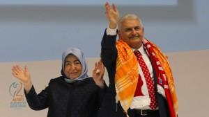 AKP wählt Yildirim einstimmig zum Vorsitzenden