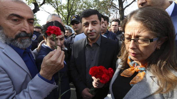 Demirtas spricht von Mordplänen des IS gegen ihn