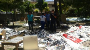 Tote bei Explosion in türkischer Grenzstadt