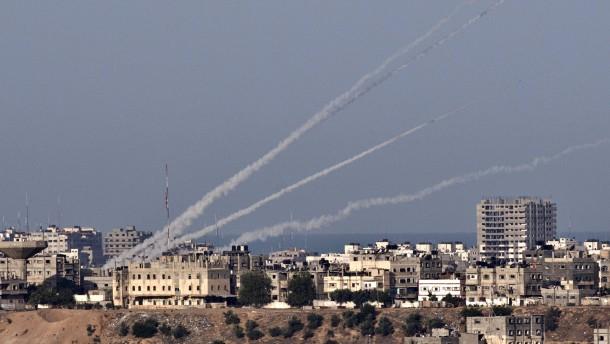 Raketen schlagen nahe Jerusalem und Tel Aviv ein