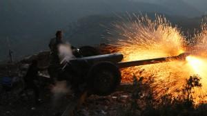 Assad-Truppen starten Offensive in Homs