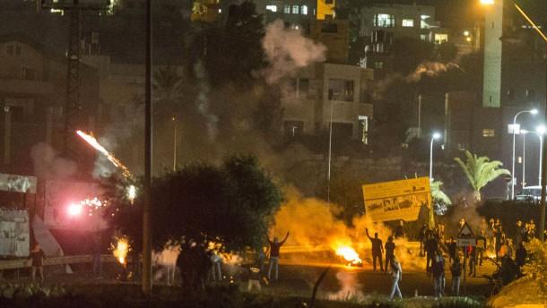 Gewalt in Israel schürt Angst vor Eskalation