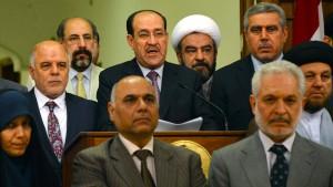 Irakische Schicksalsfrage