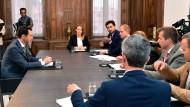 Russland begrüßt Merkels Vorstoß zu Dialog mit Assad
