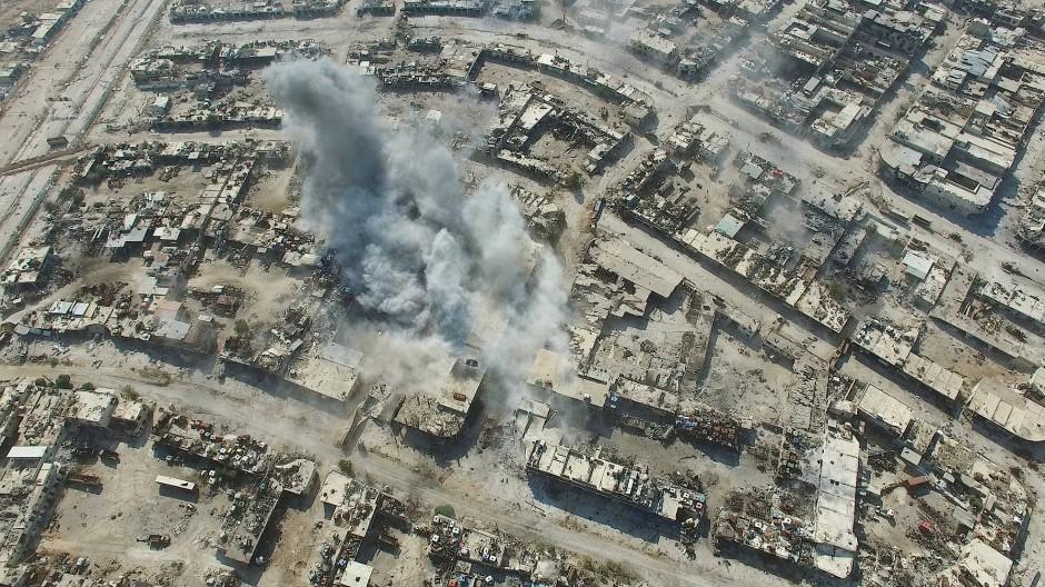 Große Teile von Aleppo sind schon zertrümmert worden.