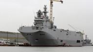 Ägypten kauft Mistral-Kriegsschiffe aus Frankreich