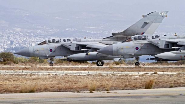 Britische Tornados erstmals im Irak im Einsatz
