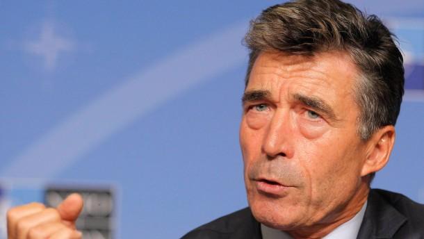 """Rasmussen: """"Sehe keine Rolle in Syrien"""""""