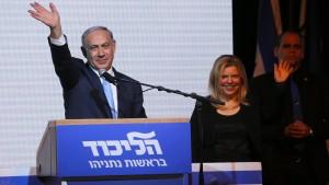 Überraschungssieger Netanjahu