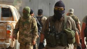 Al-Nusra-Front entführt von Amerika ausgebildete Kämpfer