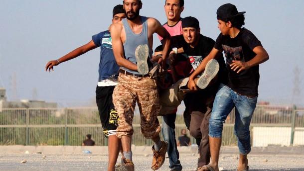 Tote bei Unruhen in Benghasi
