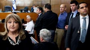 Olmert wegen Bestechlichkeit verurteilt