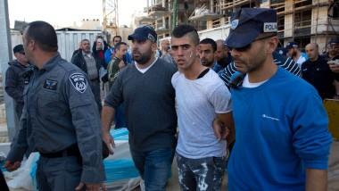 Un joven palestino fue detenido por la policía israelí, ya que debe tener una mujer judía atacó con un cuchillo.