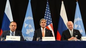 Kerry gähnt und Lawrow stichelt
