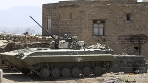 Houthi-Rebellen stürmen Präsidentenpalast
