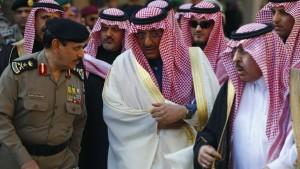Die alten Männer des Hauses Saud