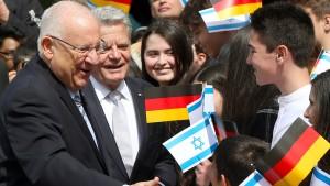 Merkels Versprechen für Israels Sicherheit