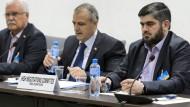 Die Verhandlungsgruppe der syrischen Opposition will die Friedensgespräch in Genf verlassen.