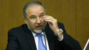 Lieberman verlässt Regierungsfraktion