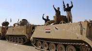Irakische Truppen beginnen Großoffensive
