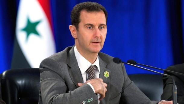 Assad sieht Ende der aktiven Kriegsphase