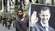 Assad lässt Stellungen räumen