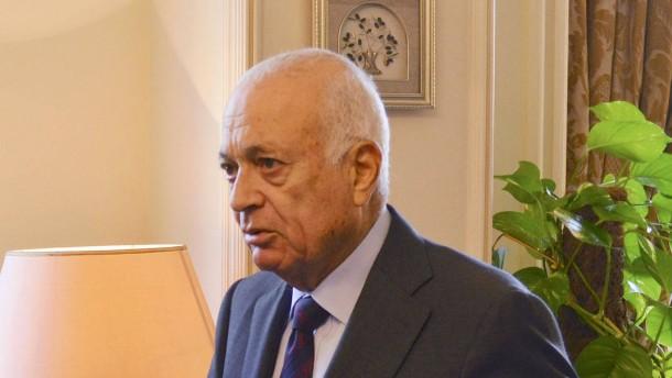 Arabische Liga plant Palästina-Resolution