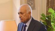 Der Generalsekretär der Arabischen Liga, Nabil al Arabi, im September in Kairo