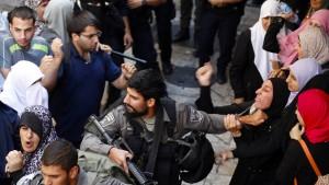 Wieder Zusammenstöße vor Al-Aqsa-Moschee