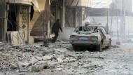 Assads Truppen töten angeblich dutzende Zivilisten