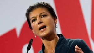 Wagenknecht: Wir sind bereit für Rot-Rot-Grün