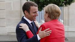 Lauwarme Glückwünsche aus Frankreich
