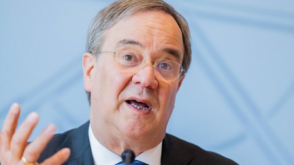 Unions-Kanzlerkandidat Laschet im Juni in Düsseldorf