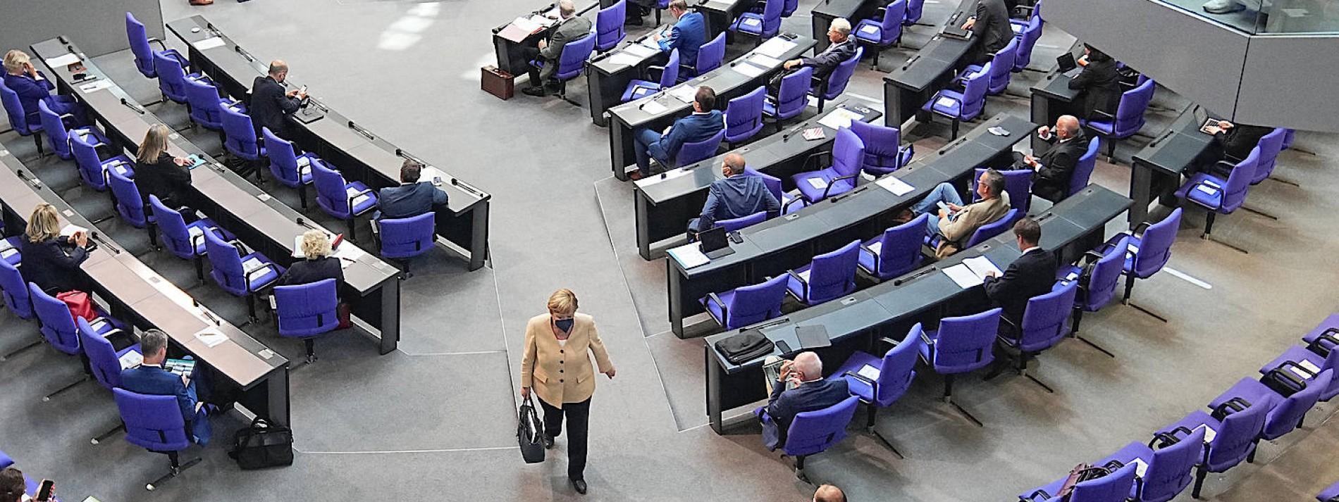 Der Bundestag als Wahlkampfbühne