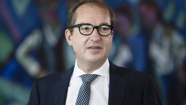 Dobrindt will CSU-Landesgruppenchef werden