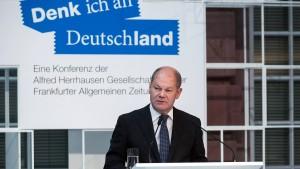 Scholz: Kontrollverlust von 2015 soll sich nicht wiederholen