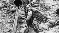 Im Oktober 1916 konnte die französische Armee das Fort Douaumont zurückerobern.