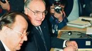"""Mit seiner Prophezeiung """"Am Ende wird der Strom Europas auch Großbritannien erfassen"""", lag Helmut Kohl wohl falsch."""