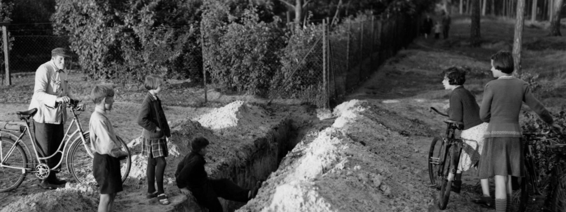 Berliner Mauer, anno 1952
