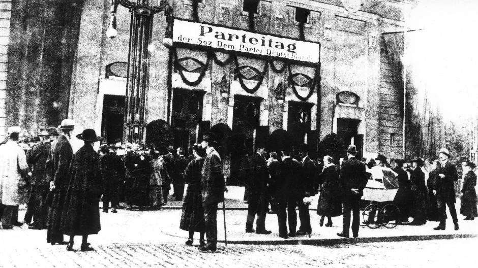 Seiner Zeit weit voraus: Parteitag in Görlitz im September 1921