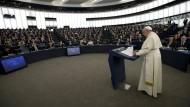 Papst ermutigt EU-Parlamentarier