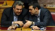 Schulz: Tsipras muss Koalition aufkündigen