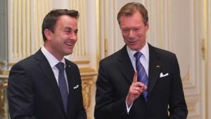 Neue Regierung in Luxemburg vereidigt