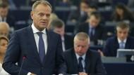 Tusk kritisiert Osteuropäer